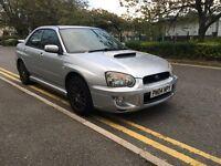 2004 Subaru Impreza wrx uk 300 limited edition extensive service history VOSA verified 2 owners