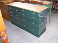 MATES BED AND DRESSER