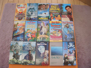 (59) CHILDRENS AND OTHER VHS MOVIES SOME WALT DISNEY London Ontario image 1