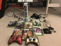 Xbox 360 Star Wars edition rare and lots of games mint con