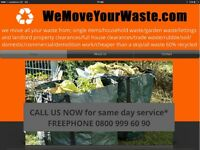 WE MOVE YOUR WASTE! WASTE/RUBBISH REMOVAL