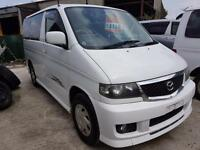 MAZDA BONGO CAMPERVAN WITH REAR CONVERSION AND SWIVEL SEAT