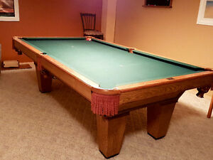 Brunswick Slate Pool Table & Accessories - *price reduced*