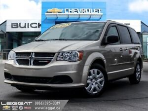 2015 Dodge Grand Caravan SXT  - Low KMS, One Owner!