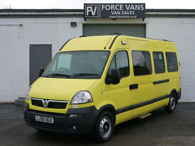 VAUXHALL MOVANO 2.5CDTI 3500 HIGH AMBULANCE DISABLED ACCESS WELFARE CAMPER VAN