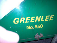 Greenlee 850 PVC Pipe Bender