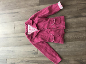 MUST HAVE THIS FALL!!! Raspberry  velveteen blazer for girls.
