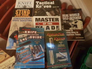 Knife collection books