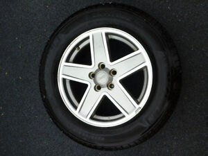 Jeep patriot/compass rims and tires