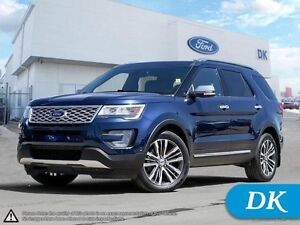 2017 Ford Explorer Platinum AWD w/0% Financing Available!