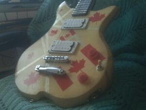 Hand made(not a kit) Canadian Pride guitar.