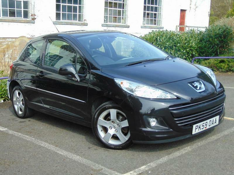 Peugeot 207 1.6 HDi 110 Sport 3 door (black) 2009 | in ...