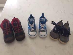 Bundle of toddler Size 10 shoes