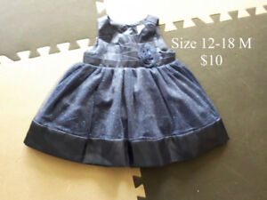 Girl Size 12-18 Months Dresses & Coats