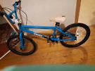 Bmx blue bike good condition