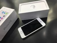 I phone 5s white/grey brand new boxed just opened to see!!