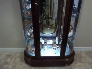 Ridgeway Curio Grandfather Clock Cambridge Kitchener Area image 4