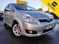 2007 TOYOTA COROLLA 2.2 VERSO SR D-4D 135 BHP! P/X WELCOME! 1 OWNER! 61K MLES!