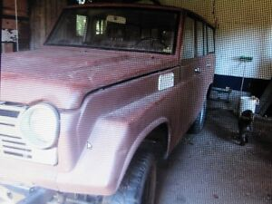 TOYOTA FJ55, 1971, Barn Find, Incomplete Project