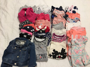Baby girl clothes size 6-12 months *sold PPU