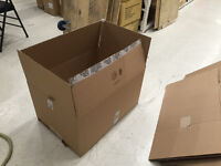 Used quality cardboard boxes (used only once)