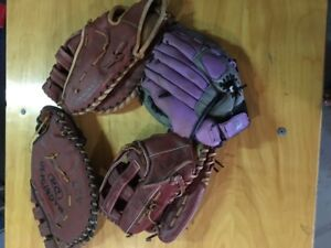 QUALITY LEATHER BASE BALL GLOVES