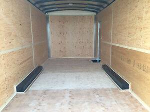 2016 TNT 8.5x16ft Enclosed Trailer w/12'' Extended Height $8999 Edmonton Edmonton Area image 7