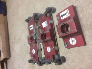 Drywall Equipment Applicator handles and flat boxes