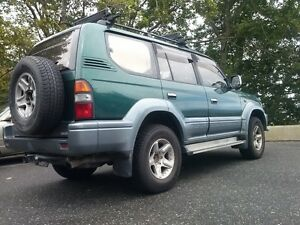 1996 Toyota Land Cruiser SUV, Crossover