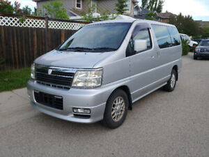 2000 Nissan Elgrand 52000km Immaculate condition