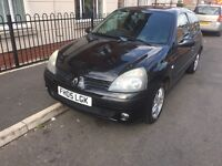RENAULT Clio 1.2 16V EXPRESSION (MOT JUNE 2017)