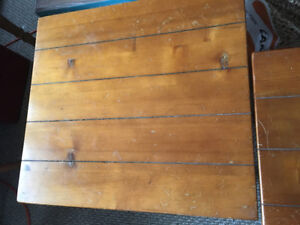 Two Pine Side Tables for Sale