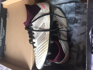 Adidas Predator Cleats - Women's size 8