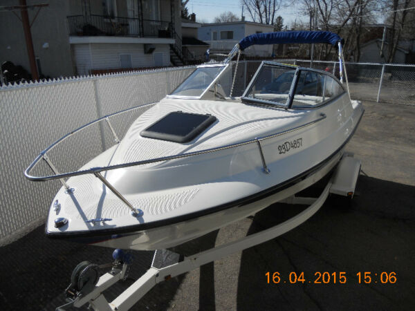 Used 2004 Bayliner cuddy 192