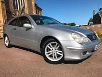 *VERY LOW MILES*ONLY 67,000 MILES FSH*MERCEDES C CLASS 1.8 C200 KOMP SE AUTO*