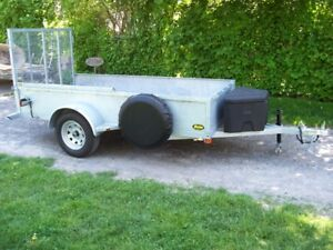 """5 x10'2""""  Hot dipped Galvanized Trailer... NO TAX"""