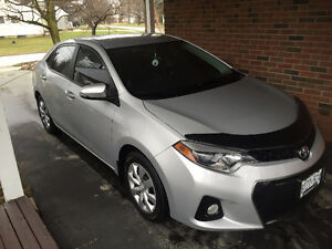 2014 Toyota Corolla sport Sedan heated seats