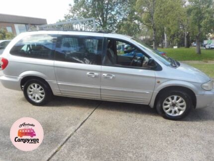 2001 Chrysler Grand Voyager 3 months Rego Ideal for backpackers