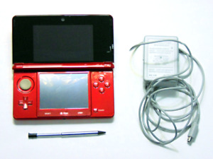 (2011) 3DS , Red & Blue & 2DS - Repaired and Modified