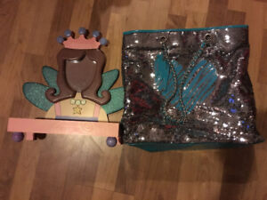 Perfect Bling -vanity, jewelry keeper & sequin bag