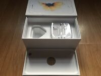 iPhone 6s box & unused Apple EarPods
