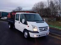 "FORD TRANSIT 2.4 TDCI [115 PSI] DOUBLE CAB TIPPER 2007 ""07"" REG 75,000 MILES FSH"