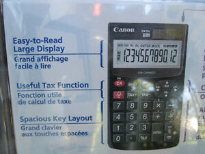 Canon DK-10i 12-Digit USB Calculator New in Package Never Used London Ontario image 6