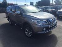2015 Mitsubishi L200 DI-D 4X4 WARRIOR DCB Diesel grey Manual