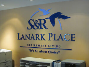 Dimensional Wall Lettering & Graphics for your Office Kitchener / Waterloo Kitchener Area image 4