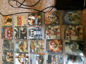 PLAYSTATION 3 WITH 30 GAMES  $300 obo