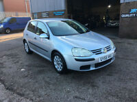 Volkswagen Golf 1.6 SE FSI 115PS 5 DOOR,95000 MILES WARRANTED,VERY CLEAN CAR.