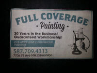 FULL COVERAGE PAINTING : INDUSTRIAL AND COMMERCIAL COATINGS