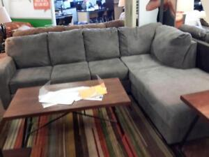 *** USED *** ASHLEY ZELLA CHARCOAL SECTIONAL   S/N:51194251   #STORE527