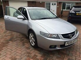 HONDA ACCORD 2005 SALOON EXECUTIVE AUTOMATIC WITH LEATHER INTERIOR